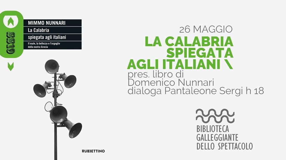 Tip Teatro. La Calabria spiegata agli italiani, libro di Mimmo Nunnari