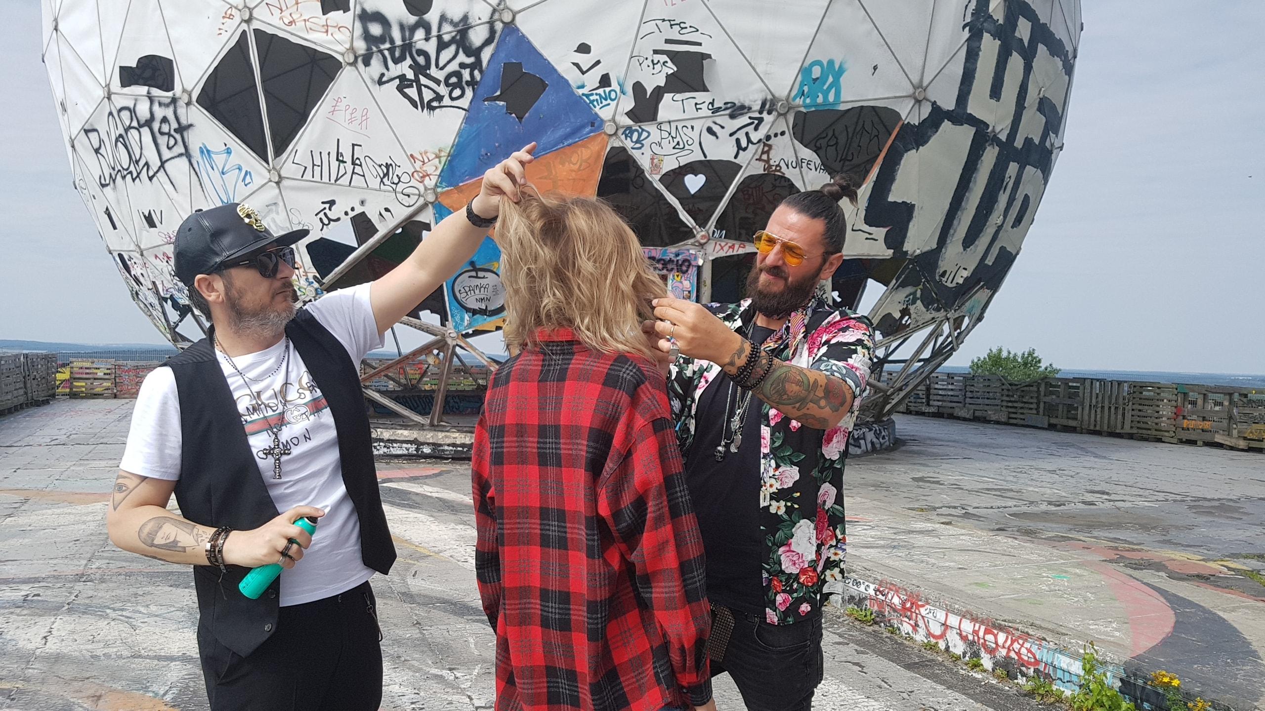 Francesco Estini al Berlino Hair Fashion-LameziaTermeit
