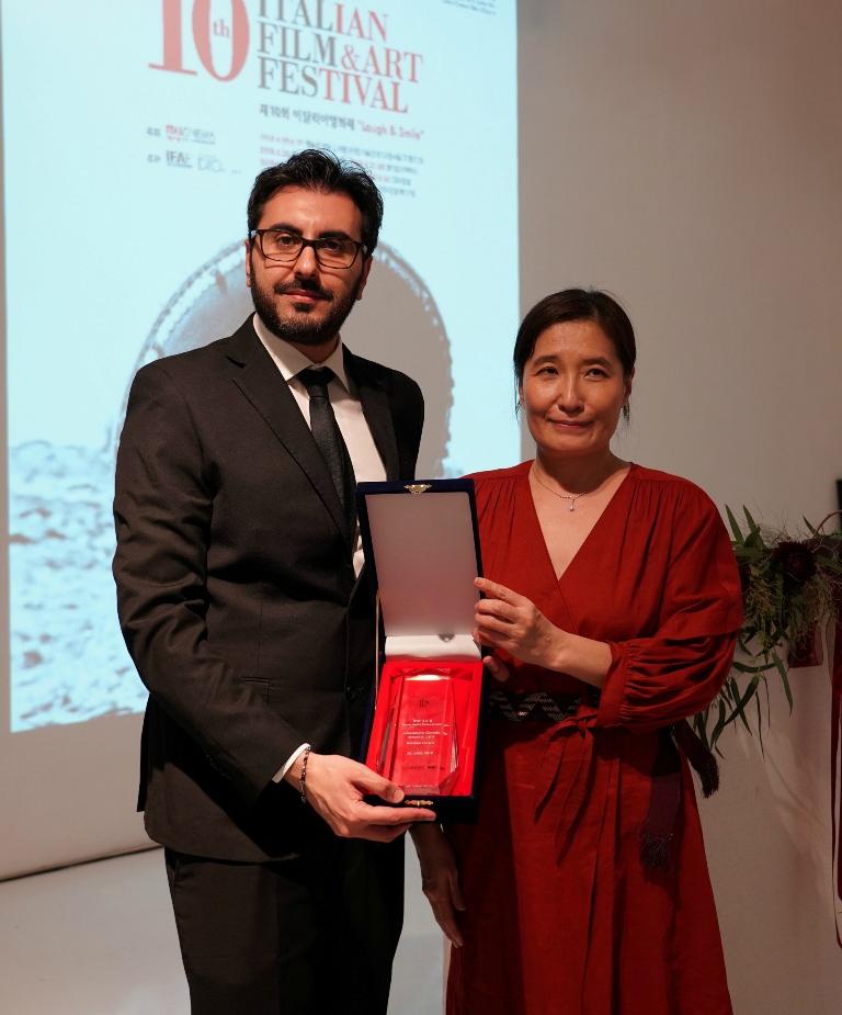 Il regista Catanzarese Alessandro Grande trionfa al Festival del Cinema Italiano a Seoul