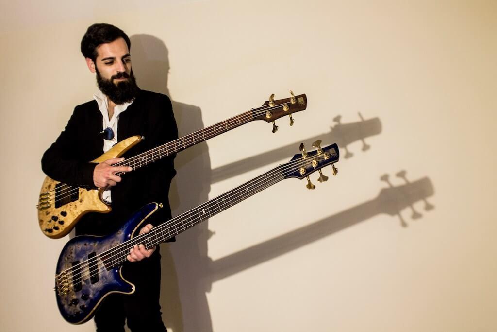 Maida. Il bassista calabrese Bruno Cucè nuovo endorser Ibanez