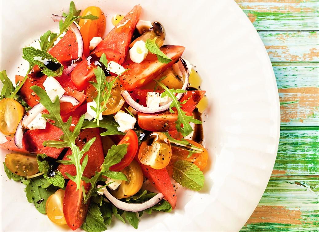 Ricetta dell'insalata di anguria