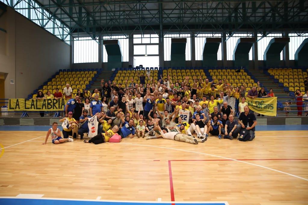 Il Basketball Lamezia batte San Nicola Cedri e conquista la serie B