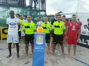 Beach Soccer Lamezia stecca l'esordio con Villasimius