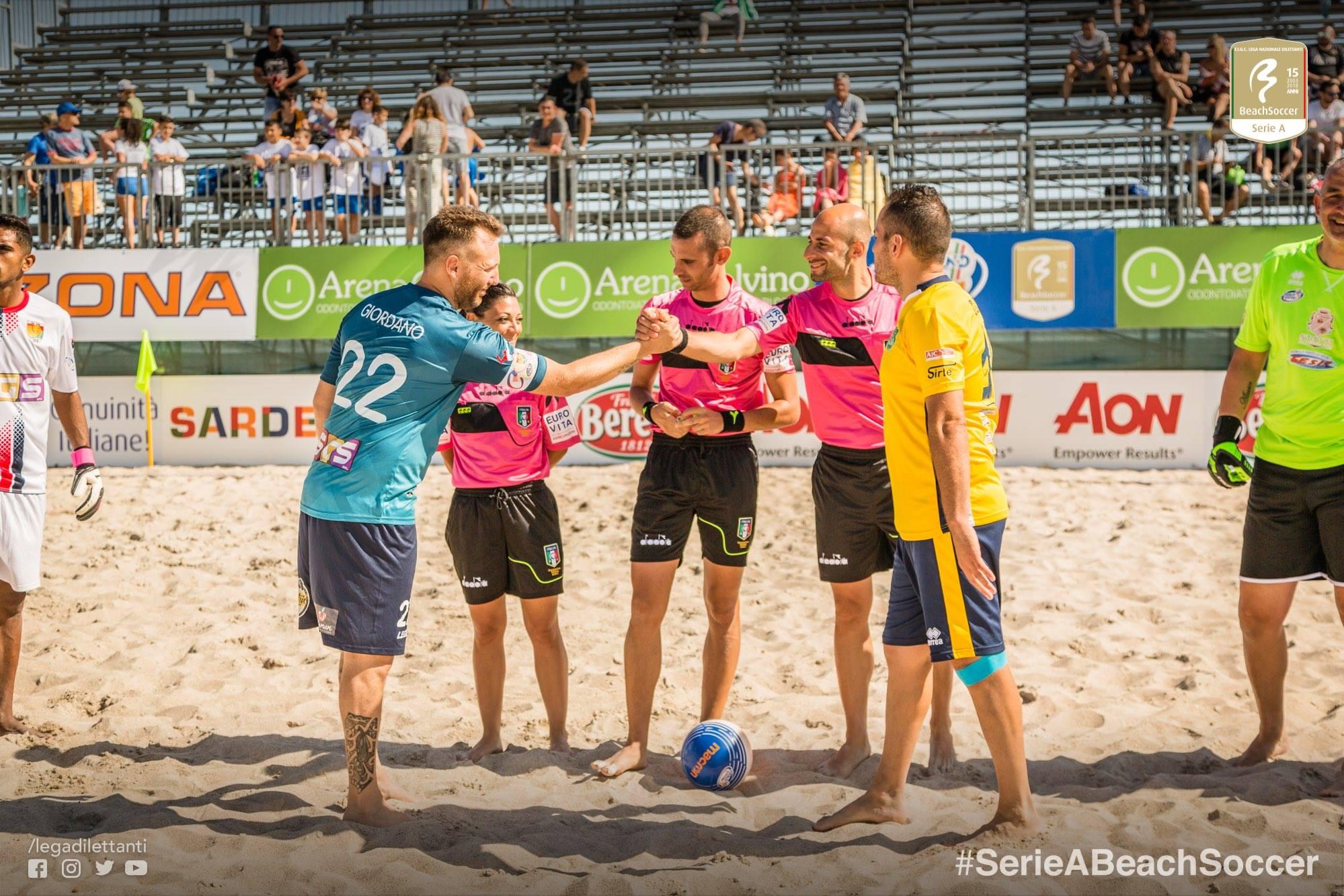 Beach Soccer: nuovo stop per Lamezia contro Sicilia BS