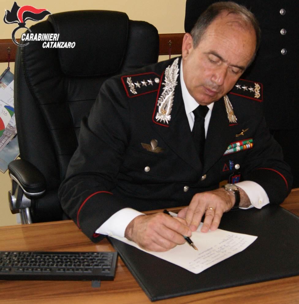 Visita del Comandante di vertice alla Compagnia carabinieri di Soveria Mannelli
