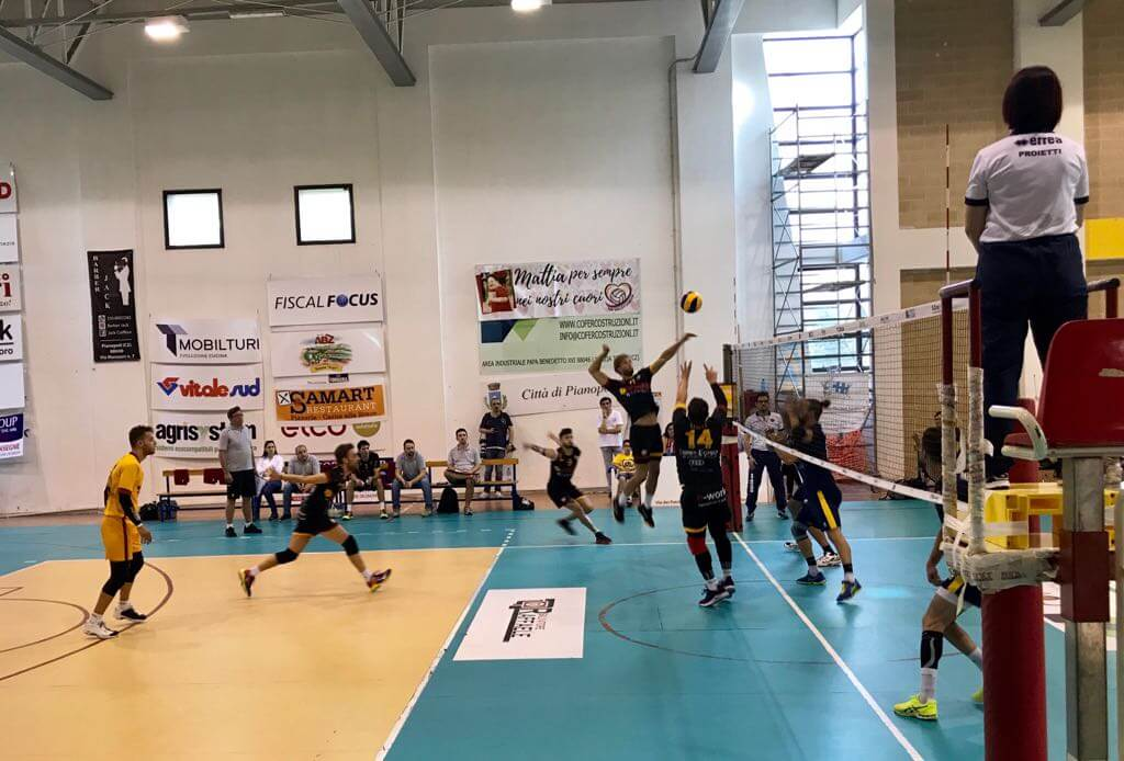Tutto facile per la Conad, Aversa Normanna battuta 3-0