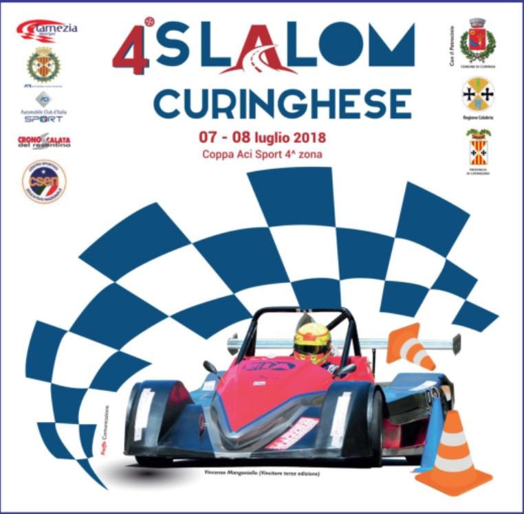 Curinga. Al via il 4° Slalom curinghese 7 e 8 luglio