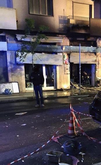 Esplosione Bilotti Cafè, arrestato il proprietario del bar