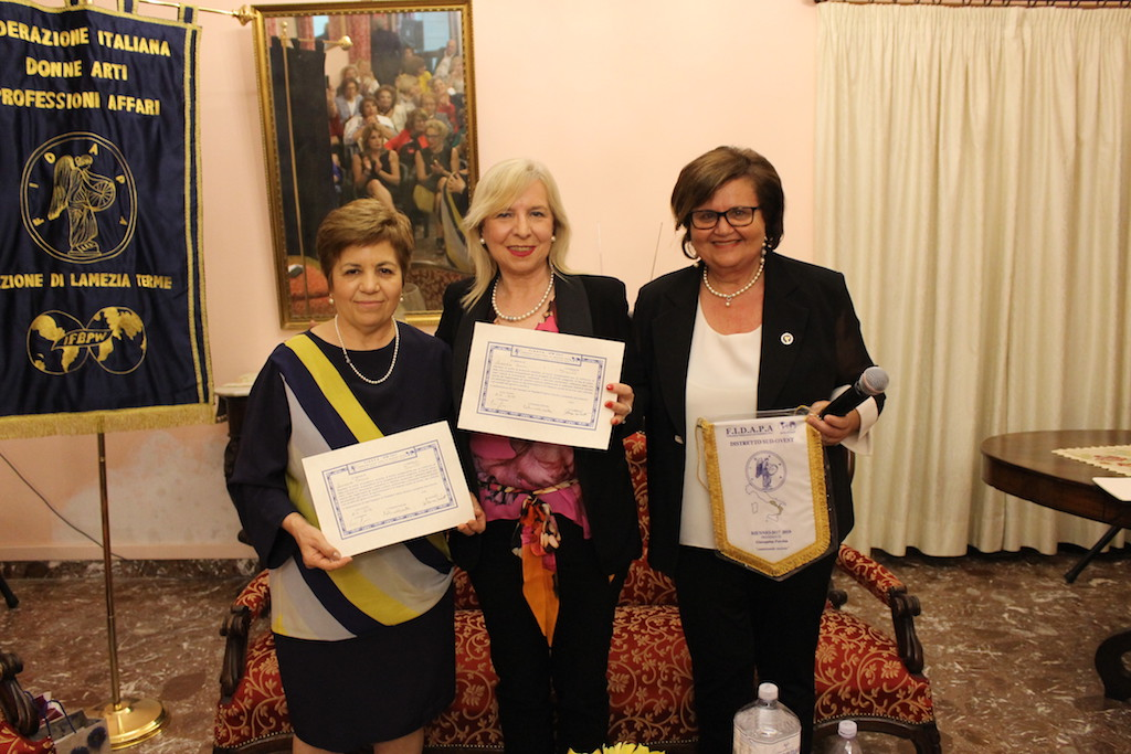 Fidapa: sottoscritto gemellaggio tra Lamezia e Trento
