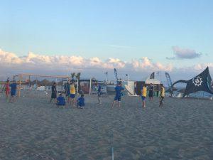 Lamezia Beach Soccer in allenamento