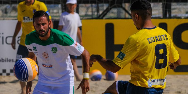 Lamezia Beach Soccer, non basta l'orgoglio con la capolista Terracina