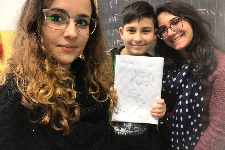 Liceo Campanella. Studenti 'guidano' bambini e ragazzi alla scoperta del francese