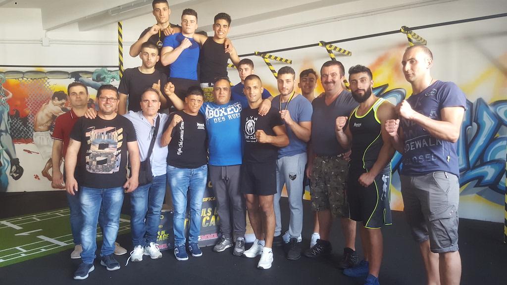 MMA. Fight Club Lamezia Terme protagonista a Napoli