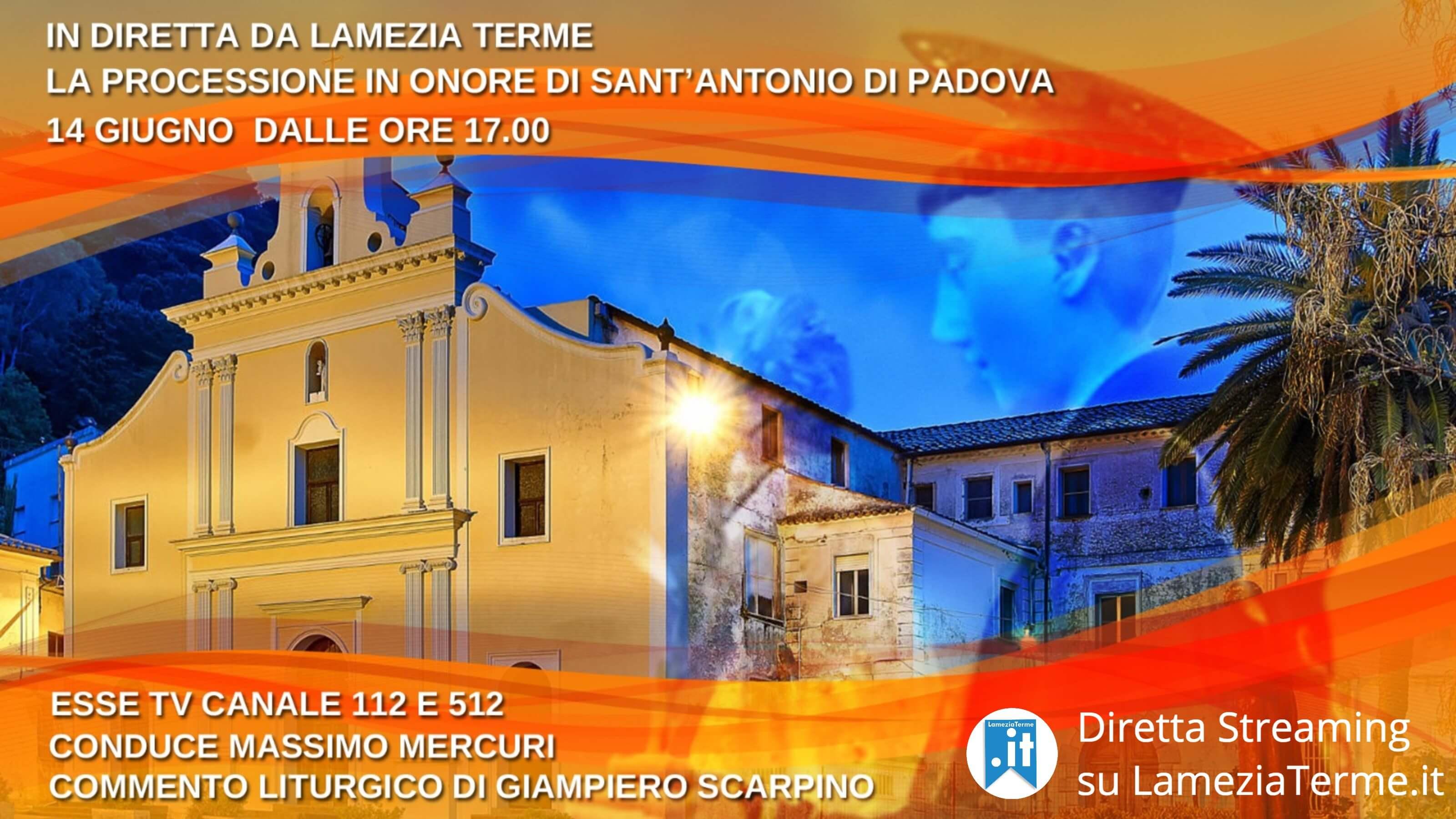 La Processione di Sant'Antonio di Padova in diretta streaming