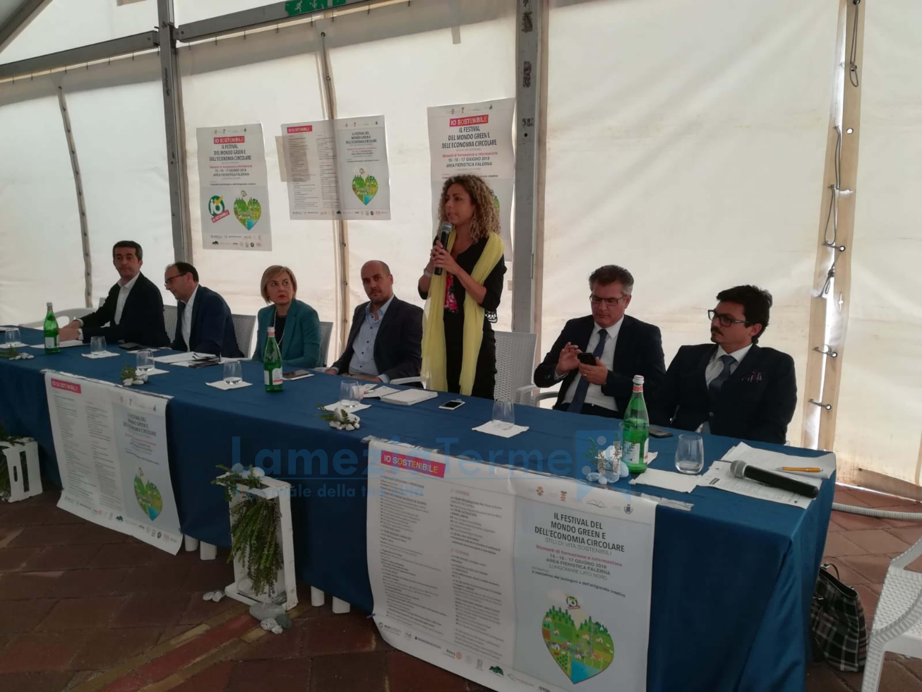La Regione presente ad Io sostenibile, il festival del mondo green e dell'economia circolare