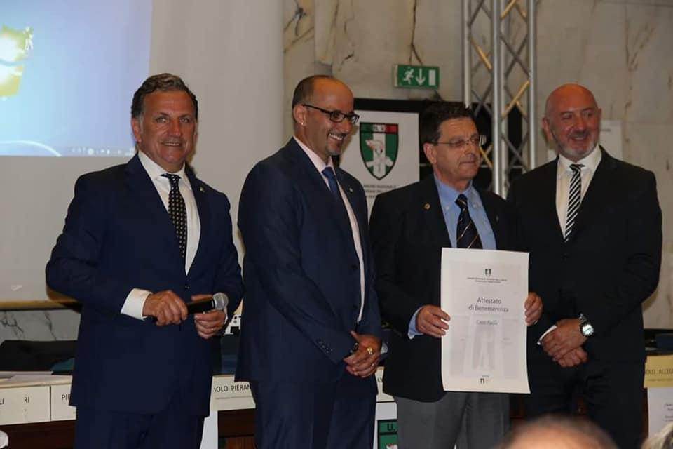 Riconoscimento alla carriera per il maestro di judo Enzo Failla
