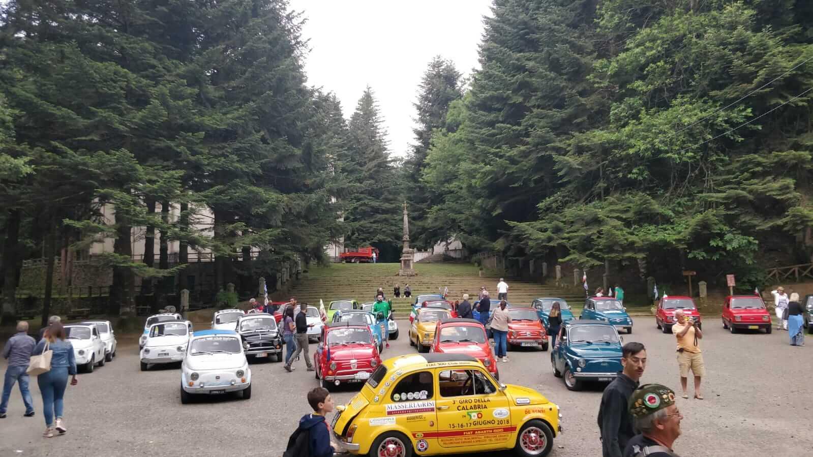 Conclusa terza edizione giro della Calabria in 500