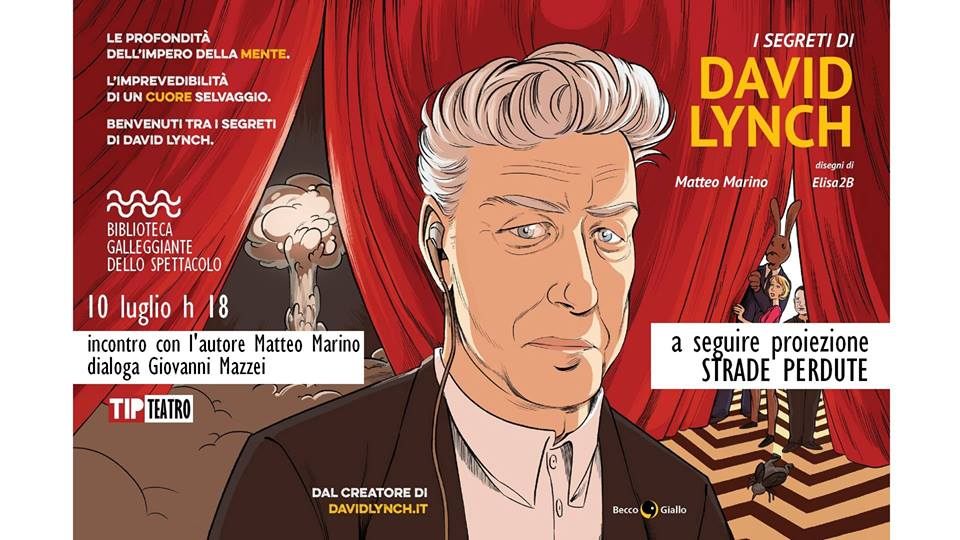 presentazione de i segreti di David Lynch-LameziaTermeit
