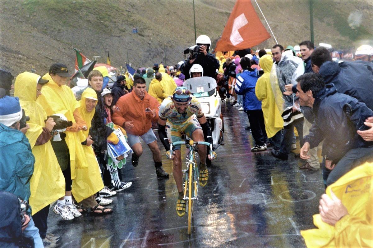 Marco Pantani al Galibier