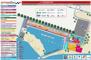 La piantina del Motorshow 2Mari