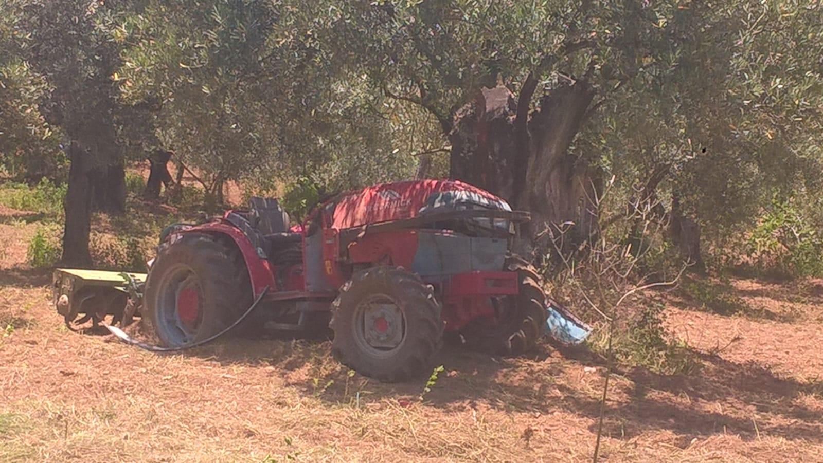 incidente con il trattore-LameziaTermeit