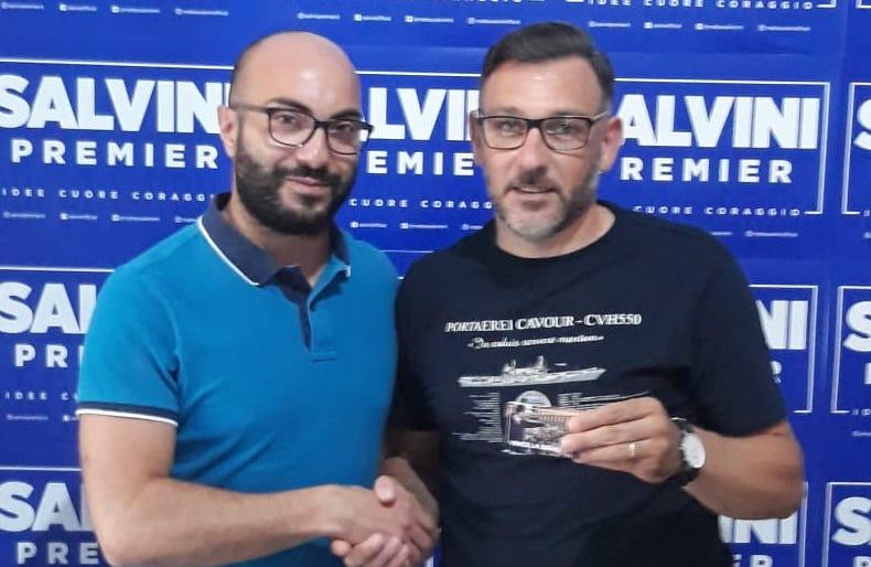 Lamezia. Oscar Branca aderisce alla Lega Salvini Premier