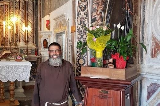 Frate Angelo Gatto in Calabria per il Cammino di Sant'Antonio