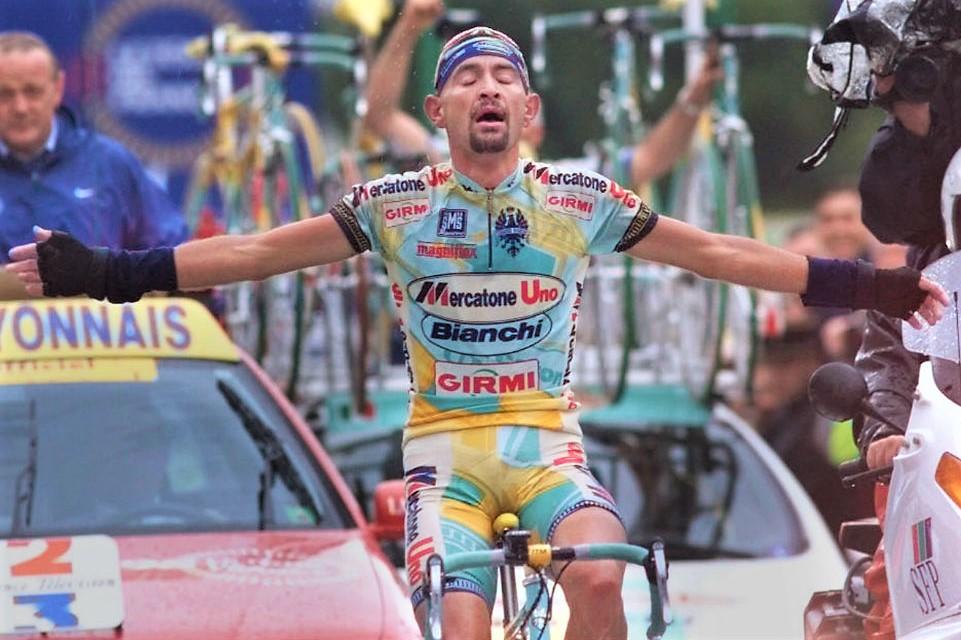 Marco Pantani trionfa