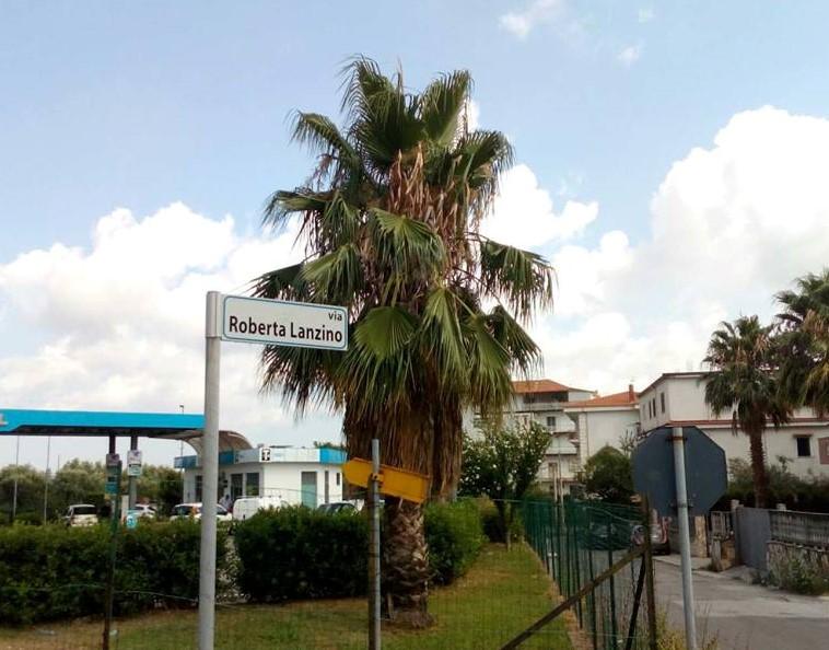 Via Roberta Lanzino a Lamezia Terme