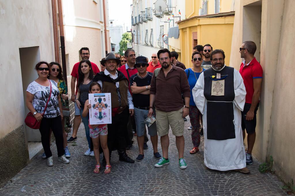 Urban trekking nel centro storico con l'associazione Santi 40 Martiri
