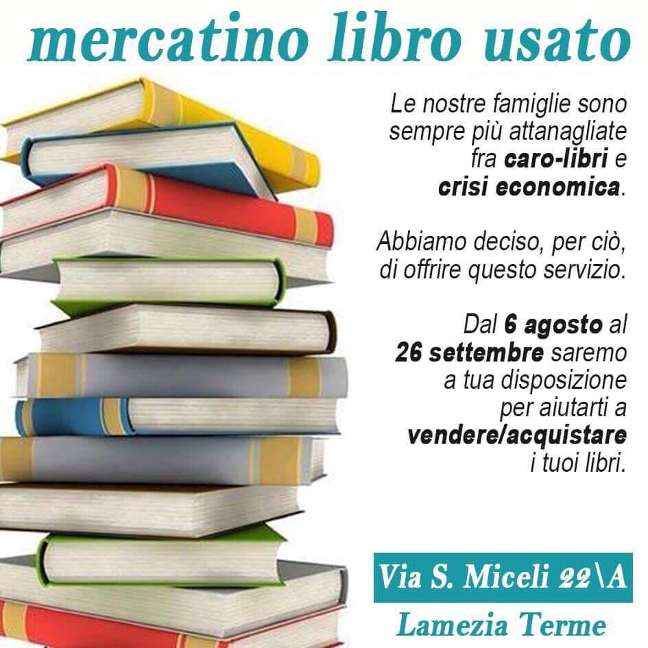 mercatino del libro usato-LameziaTermeit