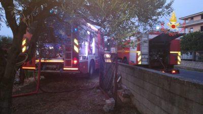Badolato: incendio in una ditta edile, identificato e denunciato l'autore