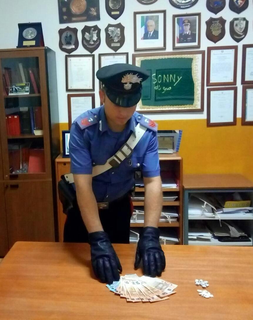 Catanzaro. Sorpreso con 11 dosi di cocaina, arrestato dai Carabinieri