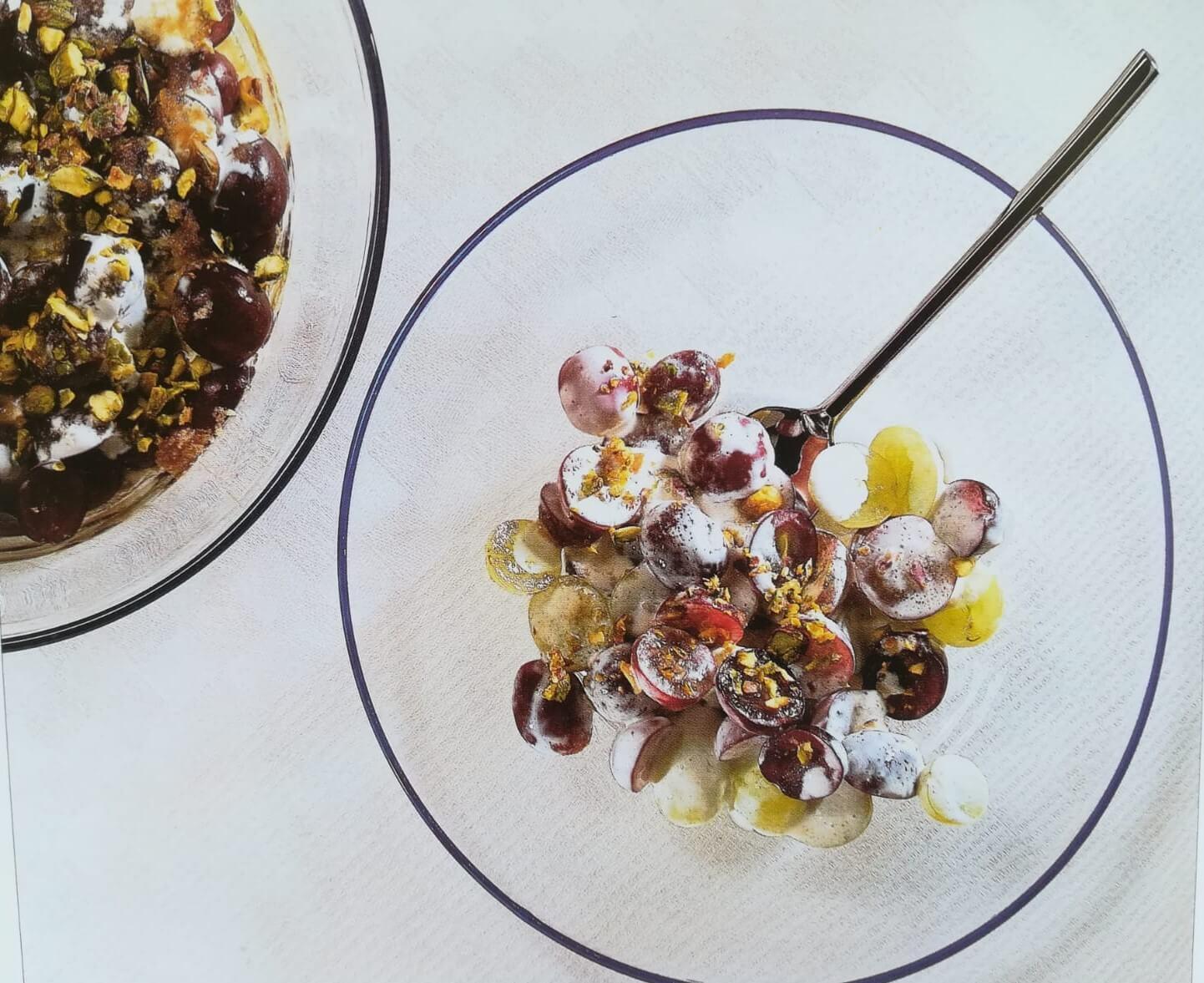 La cucina dell'estate: Insalata d'uva