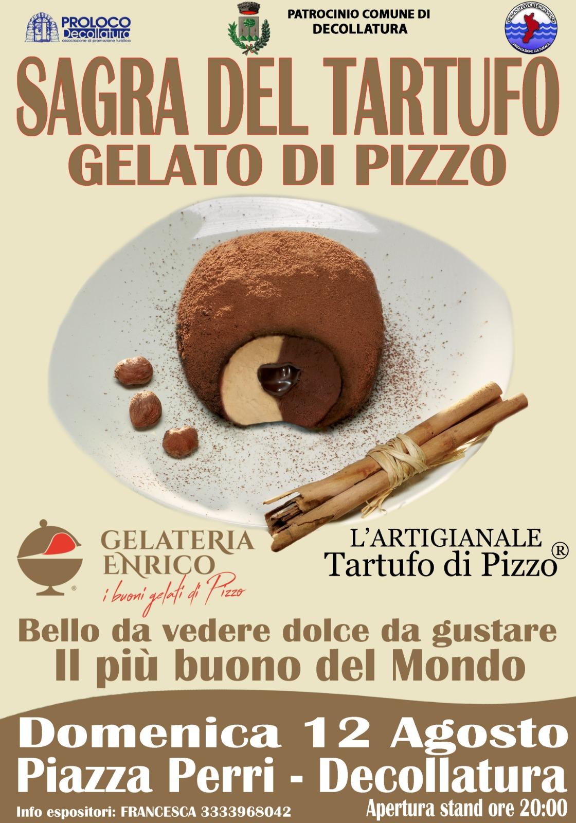 tartufo gelato di Pizzo a Decollatura-LameziaTermeit