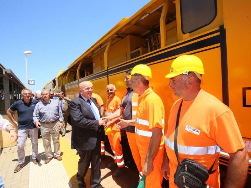 Nuova ferrovia jonica: al via i lavori di elettrificazione