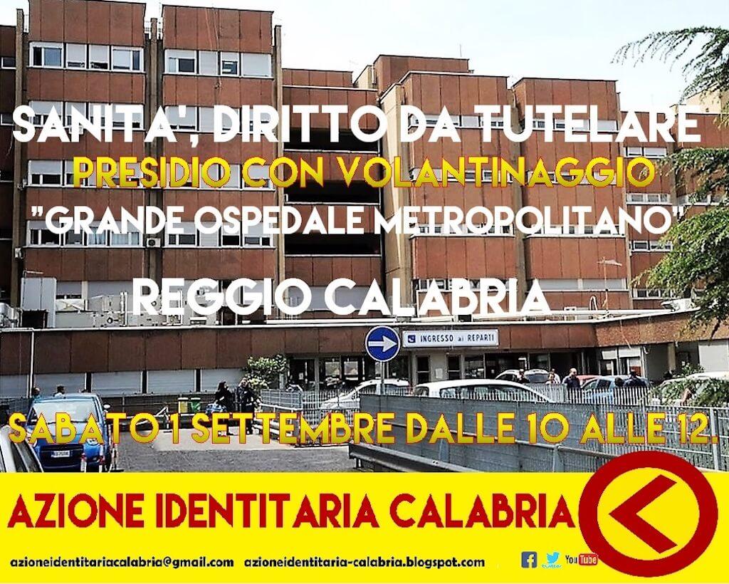 Presidio Ospedaliero di Azione Identitaria a Reggio Calabria