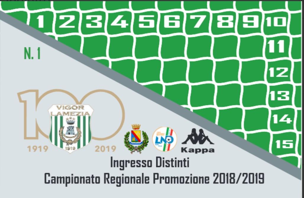 Vigor Lamezia Calcio 1919: partita la campagna abbonamenti