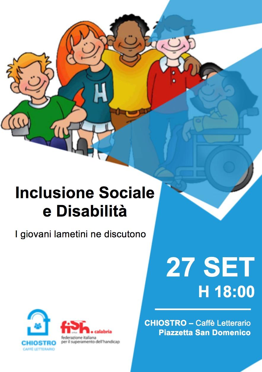 Inclusione sociale e disabilità i lametini ne parlano-LameziaTermeit