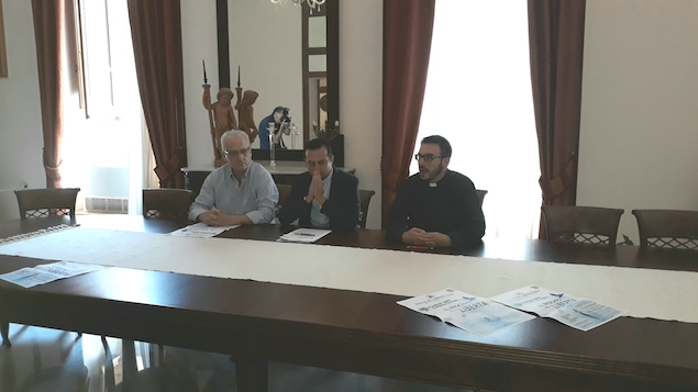 da sx Alfredo Saladini, Fabio Stanizzo, Roberto Tomaino