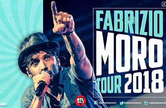 domenica 23 settembre Fabrizio Moro a Pianopoli