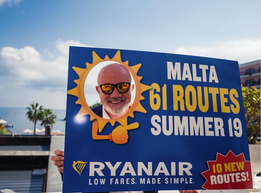 Lamezia. Ryanair annuncia il nuovo volo Lamezia - Malta