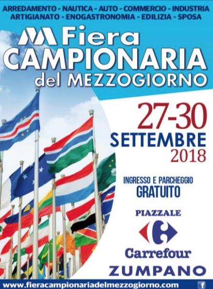 Il 5 settembre la presentazione della Fiera Campionaria del Mezzogiorno