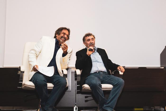 Enzo Colacino e Massimo Palanca
