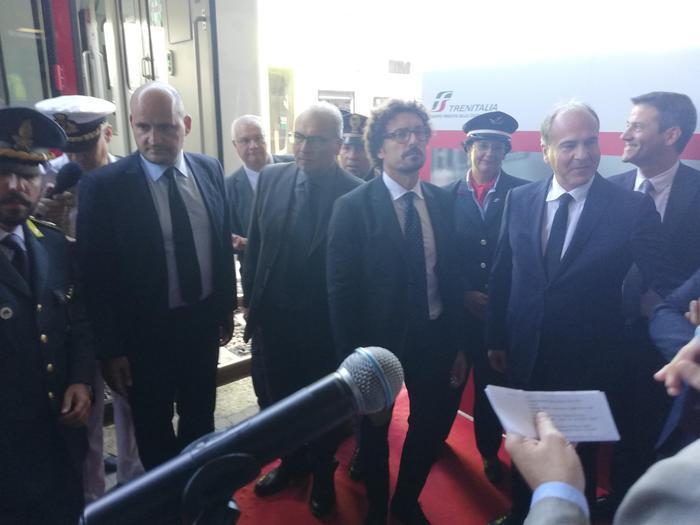 Il ministro Toninelli a Reggio Calabria-LameziaTermeit