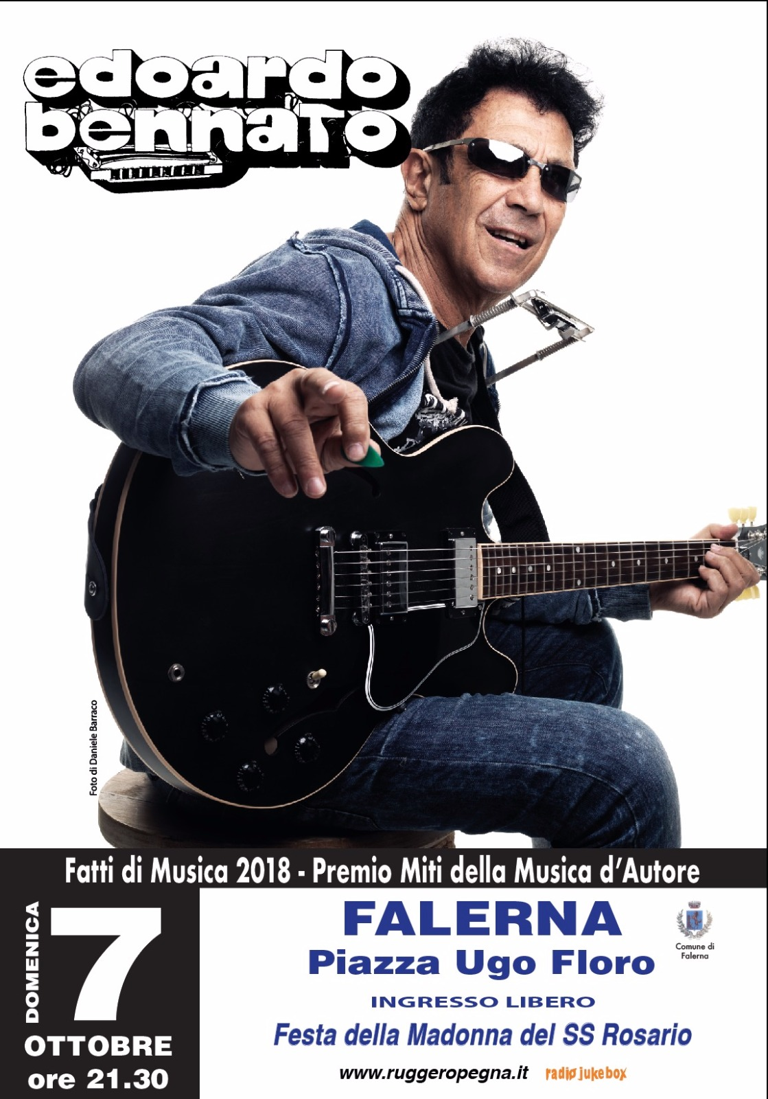 Bennato in concerto a Falerna-LameziaTermeit