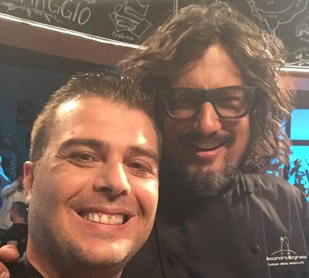 Emanuele Mancuso e Alessandro Borghese