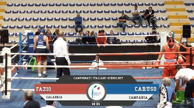 Andrea Fazio bronzo ai Campionati Italiani Schoolboy 2018
