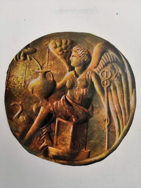 antica moneta ligea