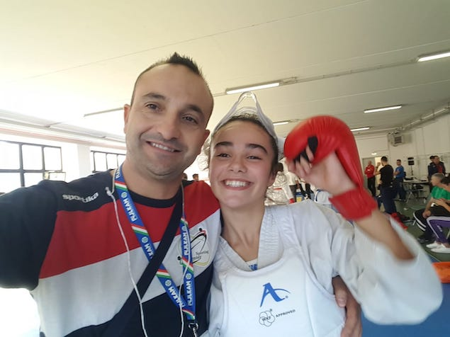 Chiara Morello e Vincenzo Ruberto
